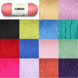 SALE Caron Simply Soft Aran Yarn Knitting Crochet Crafts 170g Ball
