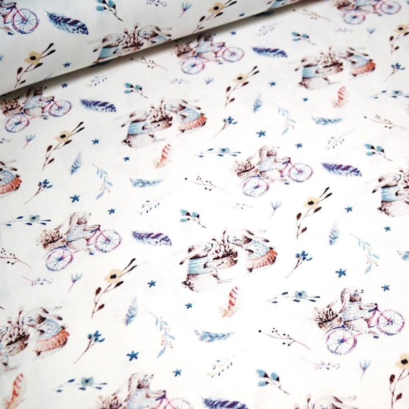 "Beautiful Floral 100/% Cotton Fabric John Louden 60/"" Wide"
