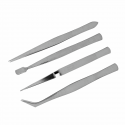 Impex Trimits 4 Piece Tweezer Set Craft Jewellery Tools