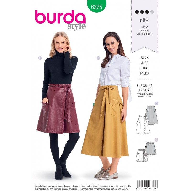 0abc68d618 Knitting Needles and Accessories Huge Selection. Shop Now. > Patterns>Sewing  Patterns>Burda Patterns>Skirts>Burda Style Misses' Pleated ...