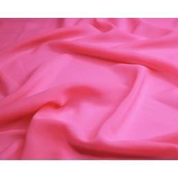 Flo Pink Bright Neon Chiffon Fluorescent Dress Bridal Fabric 145cm Wide