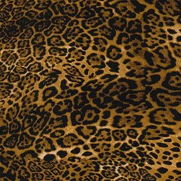 Leopard 100% Cotton Poplin Fabric Rose & Hubble Leopard Or Lynx Animal Skin Print Safari
