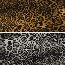 100% Cotton Poplin Fabric Rose & Hubble Leopard Or Lynx Animal Skin Print Safari