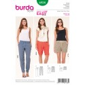 Burda Style Misses' Summer Trousers and Shorts Sewing Pattern 6938