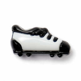 ABC Buttons 1 x 15mm Football Boots Button Soccer Shank 24 Lignes