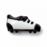 3 x Black And White Football Boots 15mm Plastic Craft Buttons