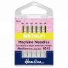 Hemline Metalfil Metallic Machine Needle Medium 80/12