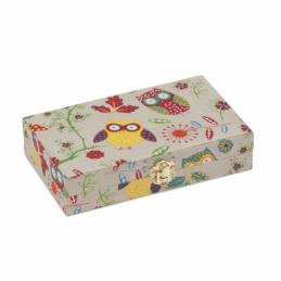 Hobby Gift 30 Spool Bobbin Box Storage Craft Sewing Thread