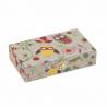 Hobby Gift 30 Spool Bobbin Box Storage Craft Sewing Thread Owl Closed