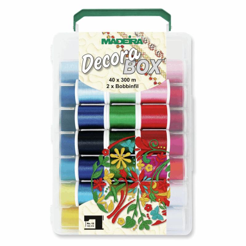 Madeira Soft Box Bobbinfil Softbox Sewing Bobbin Gift Craft Storage 8083 Decora Softobx