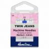 Hemline Twin Jeans Machine Needles Medium 90/14 4mm