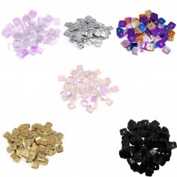 7mm Shiny Craft Square Sequins Trimits 140 Per Pack