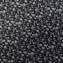 100% Viscose Fabric Summer Dress Floral Flower & Tribal Collection 140cm Wide White Ditsy Daisy Floral Flowers