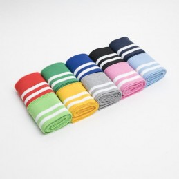 Pre Cut Ribbed Cuffing Jersey Waistband Sports Stripes 6cm x 110cm