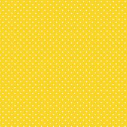 Sunshine Basic Spot Polka Dots 100% Quality Cotton Quilting Patchwork Fabric (Makower)