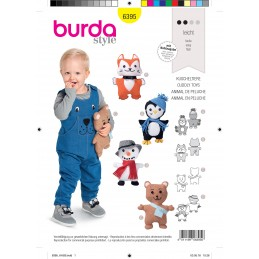 Burda Style Toldder and Child Summer Casual Hat Sewing Pattern 9496