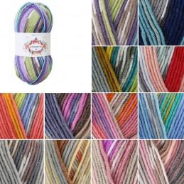 James C Brett Fairground DK Yarn 100g Ball Knitting Yarn Knit Craft