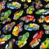 100% Cotton Fabric Timeless Treasres Vintage American Hot Rod Car Pickup Vehicle