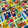 100% Cotton Fabric Springs Creative Mickey Mouse Friends Exploring Camping