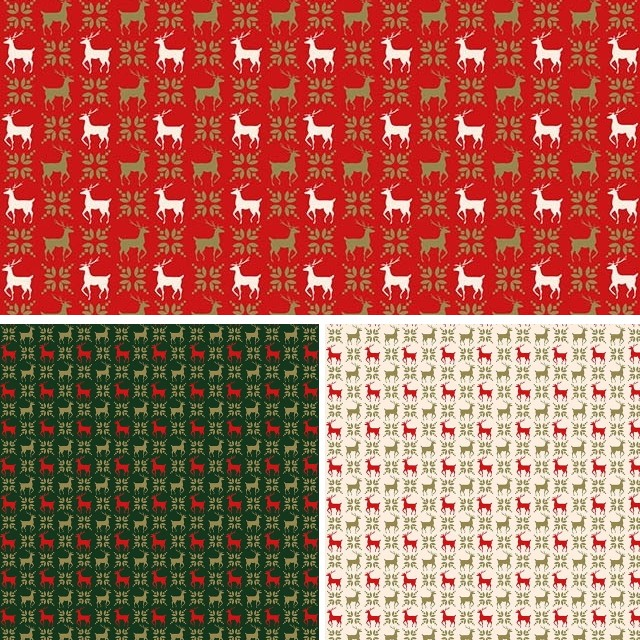 100% Cotton Fabric Christmas Holly Leaf Festive Xmas Festive 140cm Wide Red