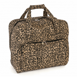 Hobby Gift Sewing Machine Bag Leopard Storage Knitting Craft