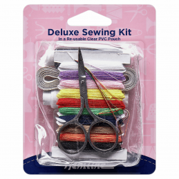 Hemline Deluxe Sewing Kit Travel In PVC Pouch