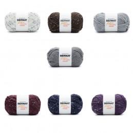 Bernat 300g Softee Chunky Tweed Yarn Acrylic Viscose Mix