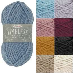 King Cole 100g Timeless Super Chunky Yarn Knitting Acrylic Alpaca Wool