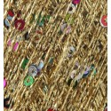 Stardust Gold King Cole 25g Cosmos Glitter Yarn Wool Sparkle Sequin