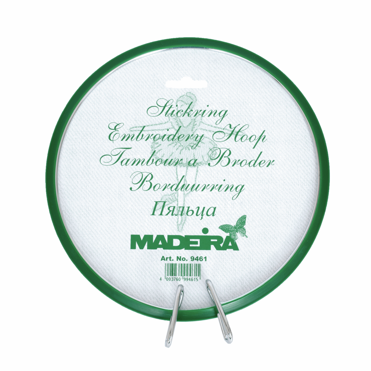 """5"""" Madeira Spring Embroidery Plastic Hoop Hand"""