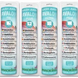 Madeira Stabilizer: Wash-Away: Avalon Fix,Plus,Ultra or Film