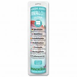 Avalon Ultra Madeira Stabilizer: Wash-Away: Avalon Fix,Plus,Ultra or Film