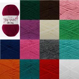 King Cole Big Value DK Knitting Yarn 50g Double Knit Acrylic Wool