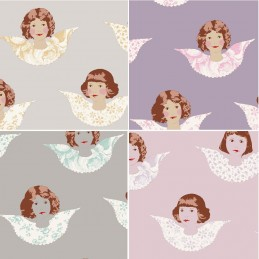 100% Cotton Fabric Tilda Angel Scraps Patchwork Quilting