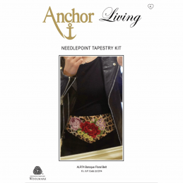 Anchor Needlepoint Tapestry Kit Belt: Living: Baroque Floral