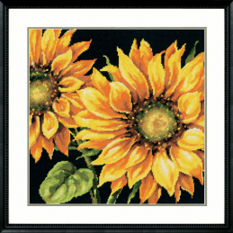 Dimensions Needlepoint Tapestry Kit Dramatic Sunflower