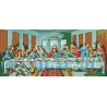Collection dArt Needlepoint Printed Tapestry Canvas: The Last Supper, Da Vinci