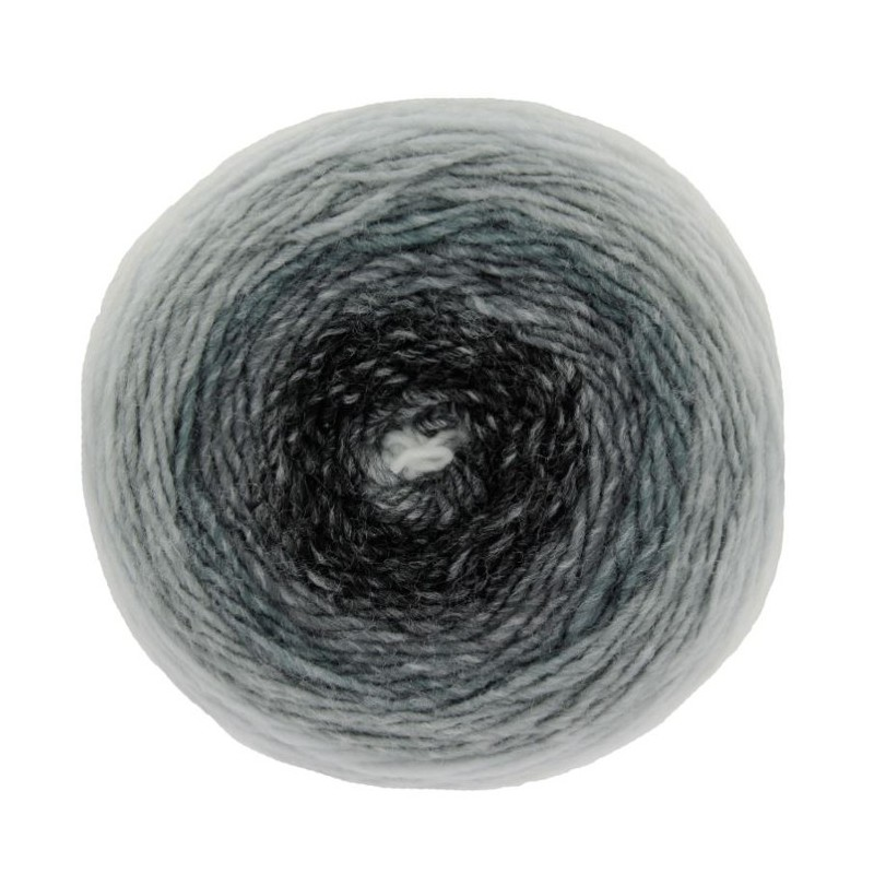 Charcoal King Cole Curiosity DK Cake Knitting Yarn Acrylic Double Knit 150g