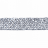 Essential Trimmings  1m x 11mm Metallic Braid Sparkly Trim