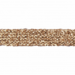 Essential Trimmings 1m x 11mm Metallic Braid Sparkly Trim