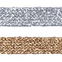 Essential Trimmings 11mm Metallic Braid Sparkly Trim