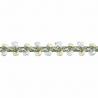 Essential Trimmings  1m x 8mm Braid: Metallic Rayon Dress Trim