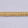 Essential Trimmings 1m x 10mm Metallic Braid Sparkly Trim Plait like