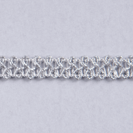 Essential Trimmings 1m x 10mm Metallic Braid Sparkly Trim Plait like
