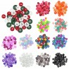 Trimits 125 x Assorted Craft Round Buttons 10mm to 14mm