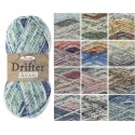 King Cole Drifter Aran Knitting Yarn Acrylic 100g Wool