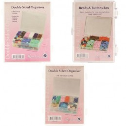 Hemline Storage Beads And Buttons Organiser