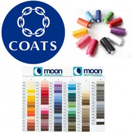 Moon Coats Polyester Spun Thread 1000 Y Reel