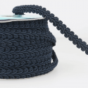 Navy Stephanoise 12mm Gimp Braid Trim Upholstery Soft Furnishings