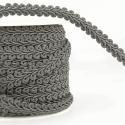 Dark Grey Stephanoise 12mm Gimp Braid Trim Upholstery Soft Furnishings